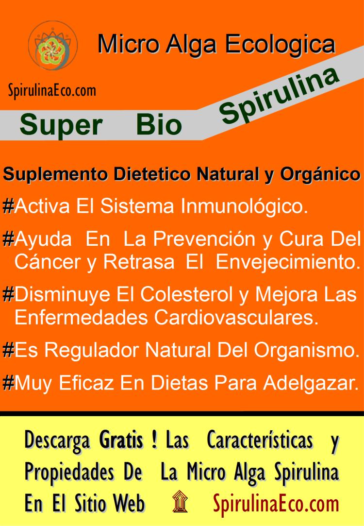 Spirulina Eco 1 Cartel png